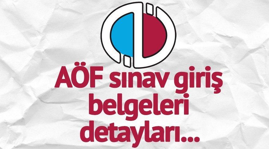 Aöf öğrenci Giriş: AÖF Sınav Giriş Belgesi çıkartma: Anadolu Üniversitesi AÖF
