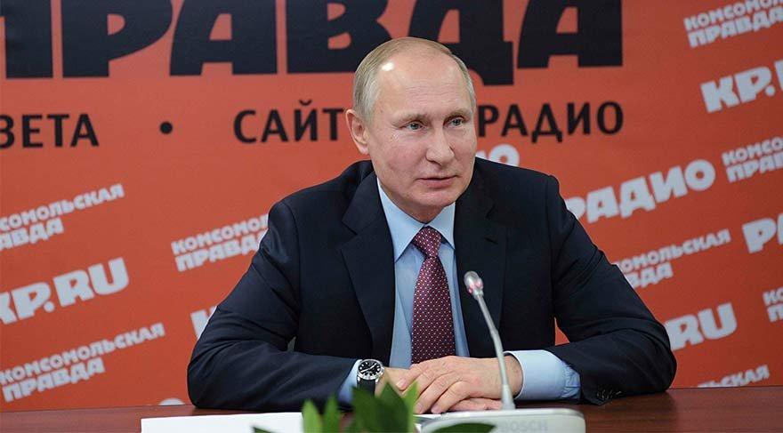 Rusya'da seçimlere 2 ay kaldı: Putin'in oyu yüzde 80'e yaklaşıyor