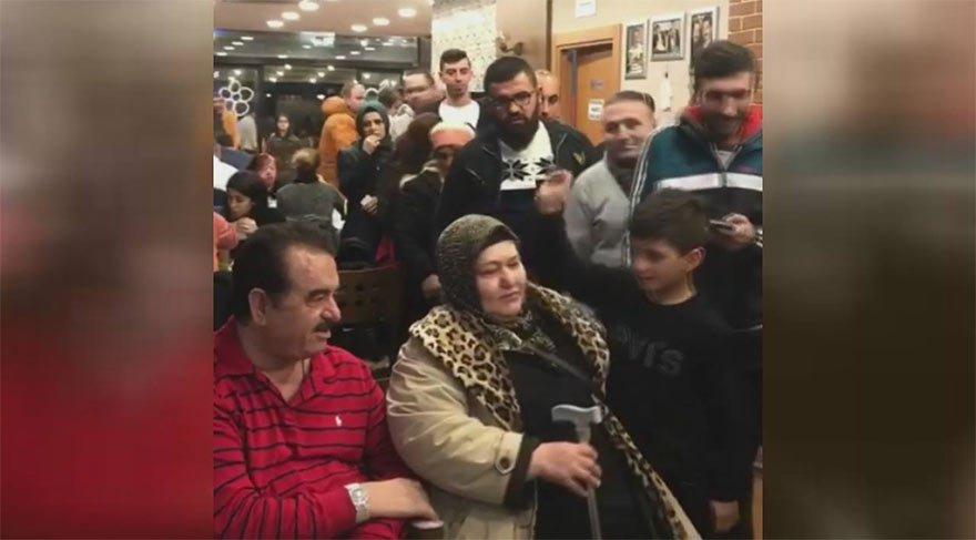 İzmir'de 'Tatlıses' izdihamı