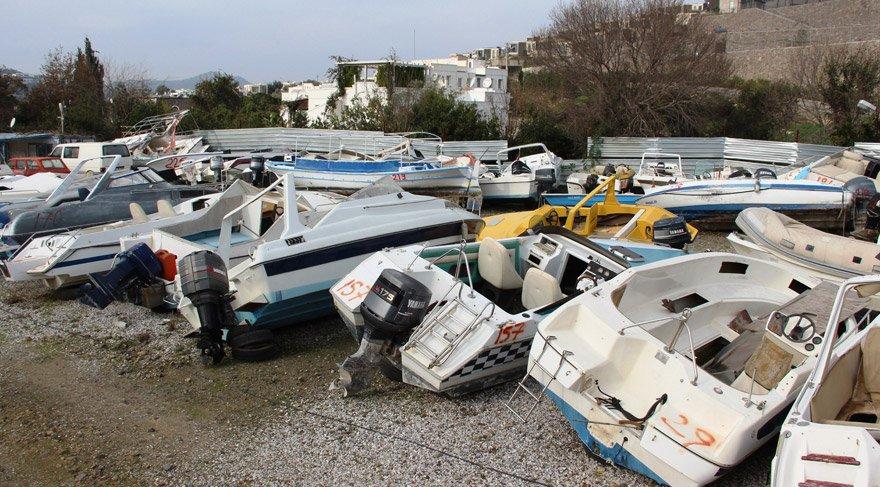 Utanç tablosu! Yüzlerce tekne…