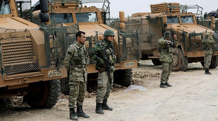 Afrin'de şiddetli çatışmaların yaşandığı Burseya'dan son kareler...