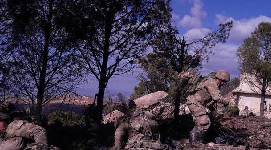 Burseya Dağı'ndaki mevziler görüntülendi! Dikkat çeken detaylar ortaya çıktı