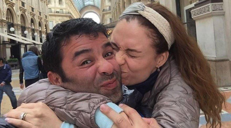 Ceyda Düvenci'den kocası Bülent Şakrak'a aşk dolu sözler