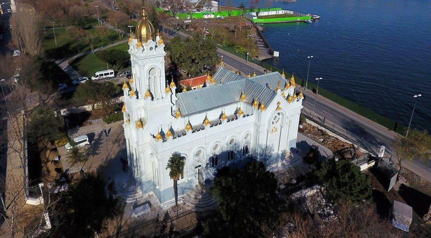 Demir Kilise bugün açılıyor