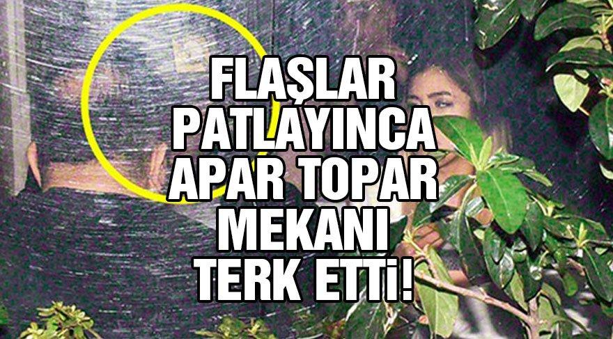 Erdem Kınay Faslı şarkıcı Hind ile samimi bir şekilde objektiflere yakalandı!
