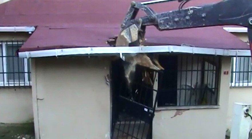 DHKP-C'nin tünelli evi yıkıldı