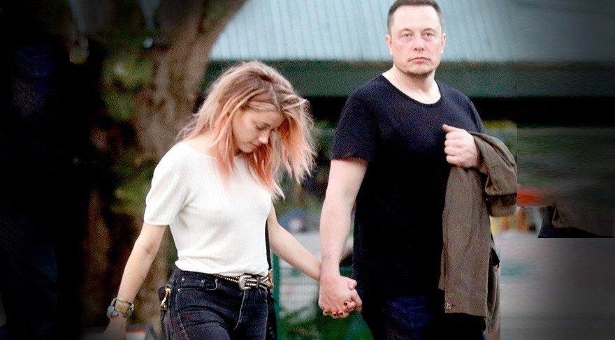Elon Musk ve Amber Heard barıştı