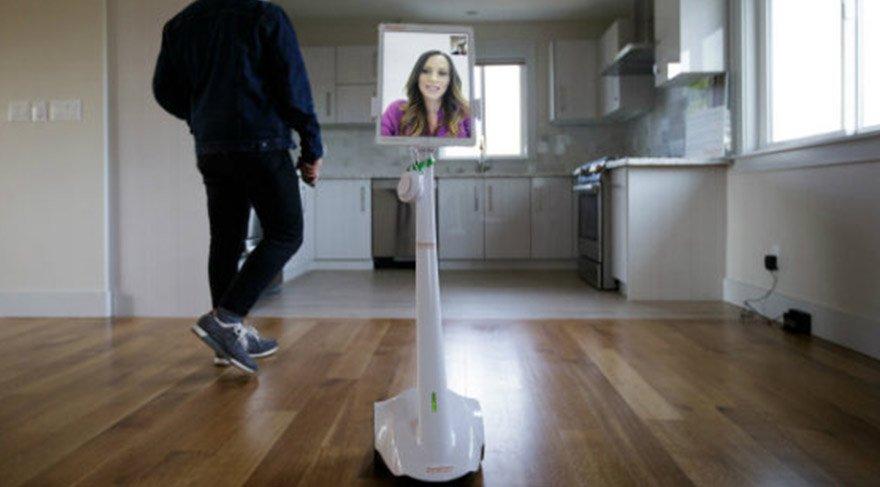 Emlakçı robot ile gayrimenkul satışı başladı!