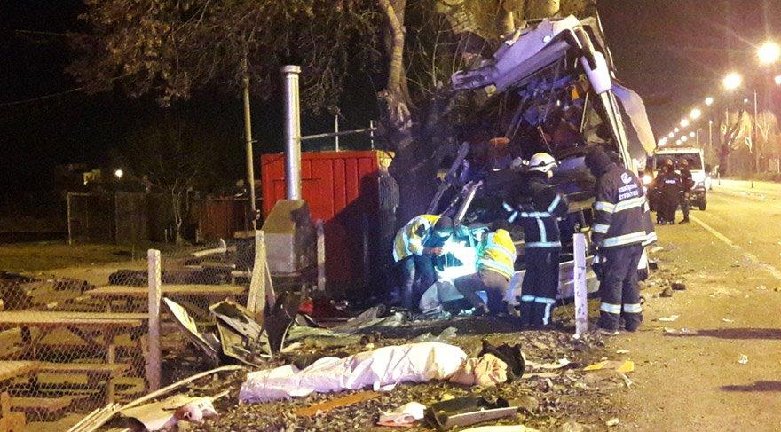 Eskişehir'de kaza, çok sayıda ölü yaralı var
