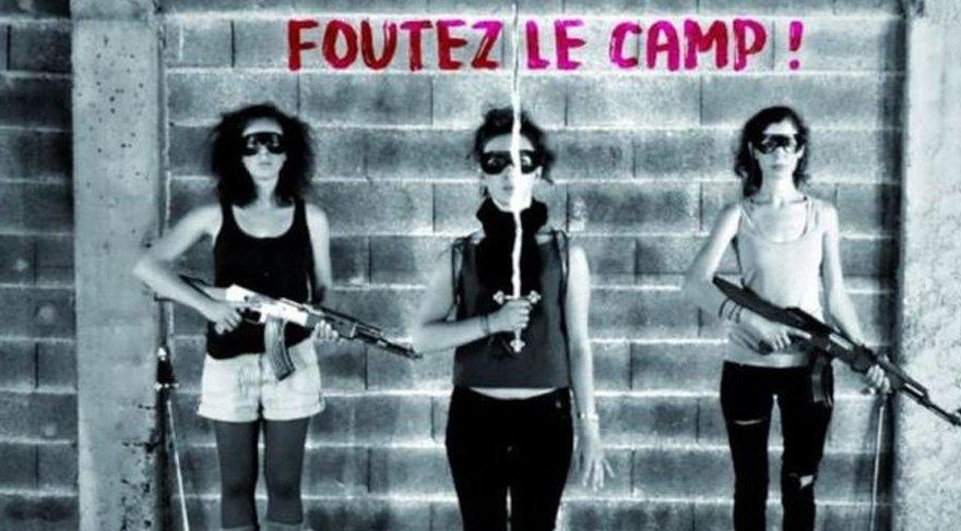 Fransa'daki bu köy aşırı sağcı kadın şarkıcılara karşı ayaklandı