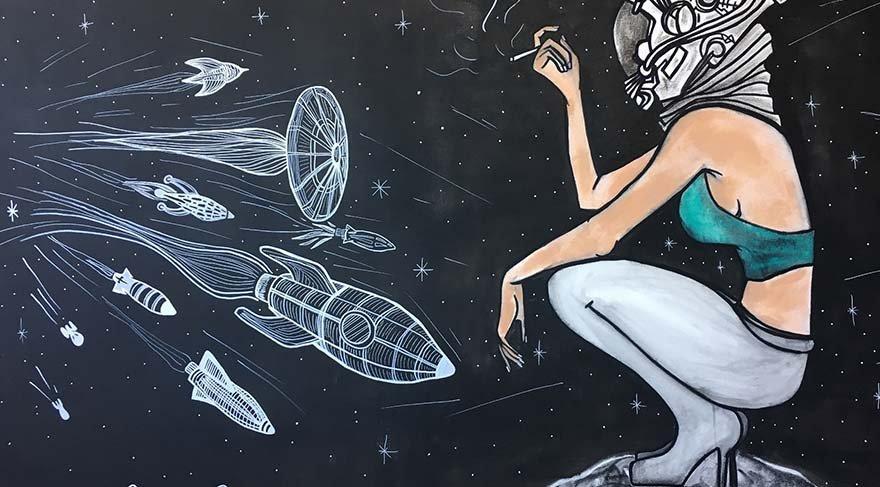 """Sanatçı Melis Binay """"We Need Space"""" sergisi ile sevenleriyle buluşuyor"""