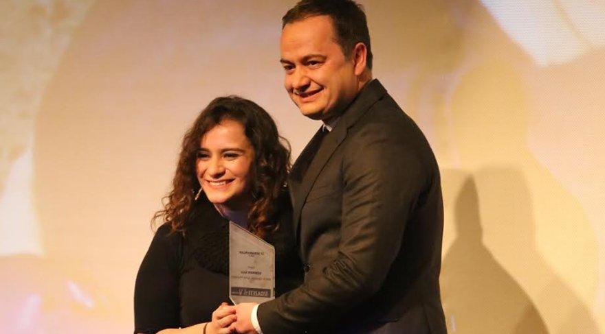 Gökmen Ulu'ya İzmir'de 'İz Bırakanlar' ödülü