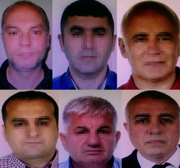 Operasyon kapsamında şebeke üyeleri gözaltına alındı.