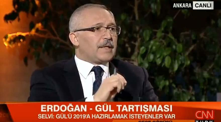 Canlı yayında Abdullah Gül için bomba sözler: Gül Erdoğan'ın karşısında aday mı olacak?