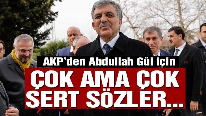 AKP'li Mehmet Ali Şahin: Abdullah Gül şimdi adeta bir yezitbaşı gibi