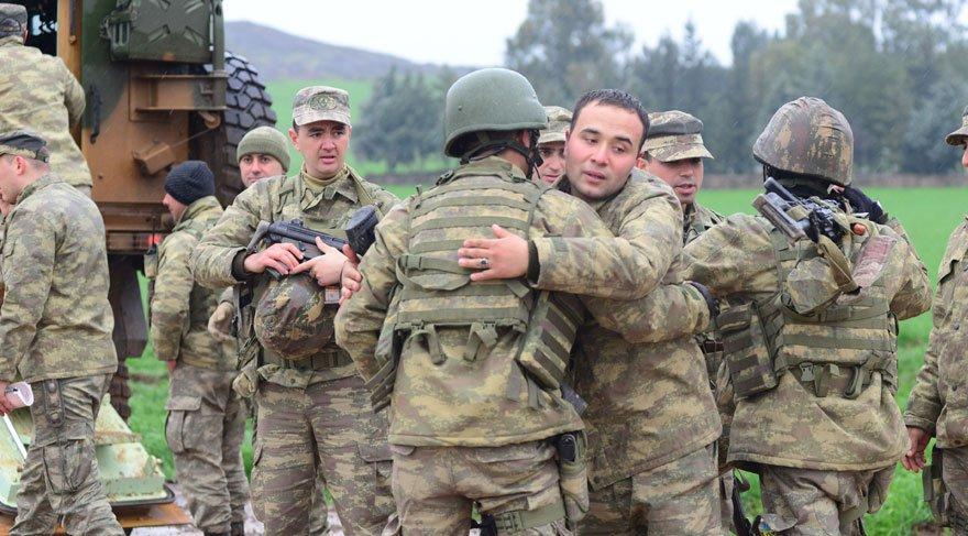 Afrin'e giden Mehmetçik: 'Düğüne gidiyoruz'