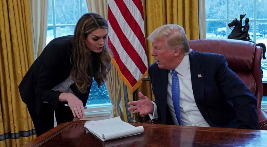 Beyaz Saray'da skandal... Trump, danışmanıyla aşk yaşıyor iddiası