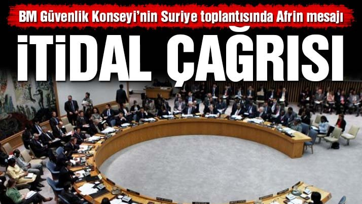 Son dakika... BMGK Suriye için toplandı! Türkiye'ye itidal çağrısı