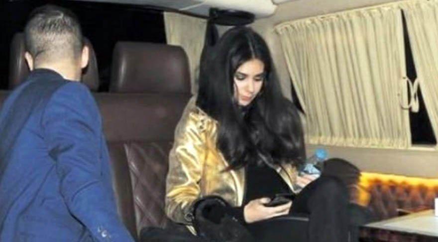 Defne Samyeli'nin kızı Deren Talu, Fahri Korutürk'ün torunuyla yakalandı