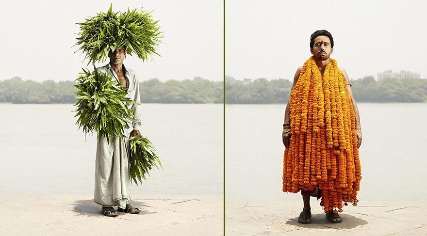Kolkata'nın 'çiçek adamları'