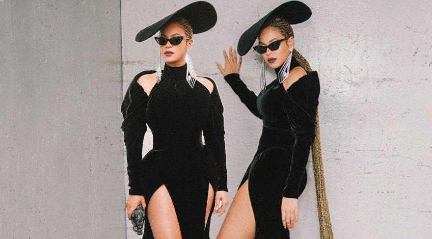 Beyonce 60. Grammy Müzik Ödülleri'ne mücevherleriyle damga vurdu