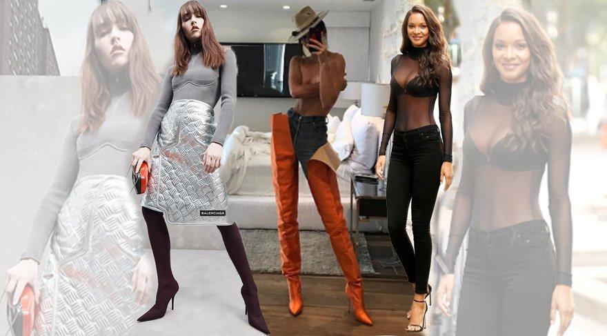 2017'nin ilginç ve popüler moda parçaları