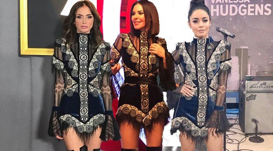 Raisa Vanessa tasarımı, Emina Sandal, Vanessa Hudgens ve Ceylan Çapa'dan sonra şimdi de Defne Samyeli üzerinde
