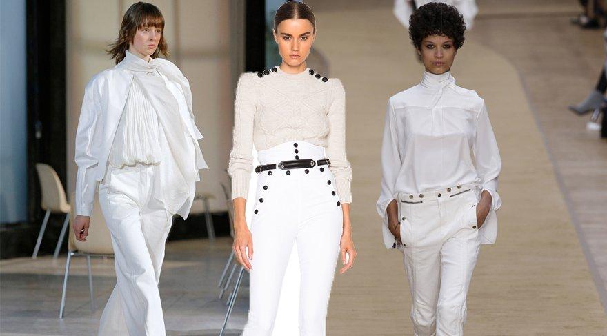 Beyaz, artık kış aylarında da giyilecek!
