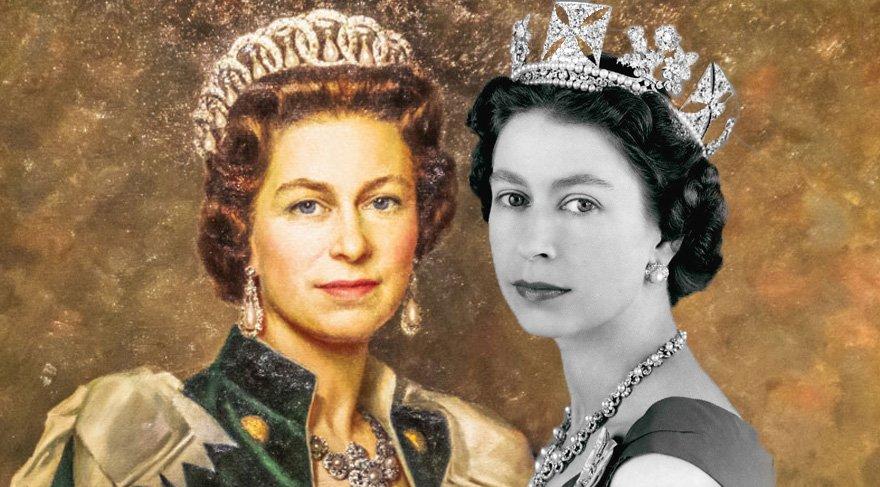 Kraliçe II. Elizabeth'in 65 yıllık taçları