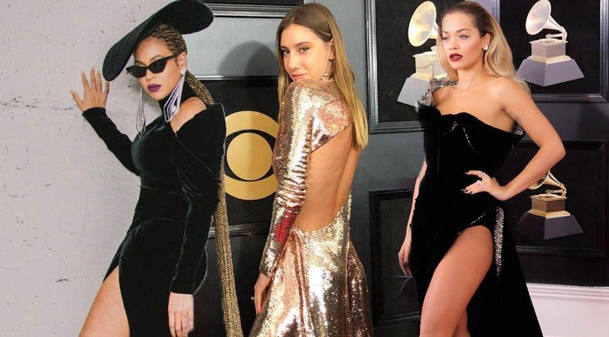 60. Grammy Müzik Ödülleri (2018) kırmızı halısında Şeyma Subaşı damgası