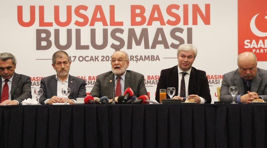 Karamollaoğlu: Abdullah Gül elbette adayımız olabilir ama...