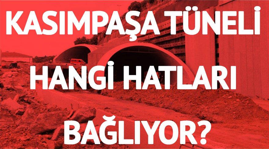 Kasımpaşa Tüneli nerede? Tünel hangi hatları bağlıyor?
