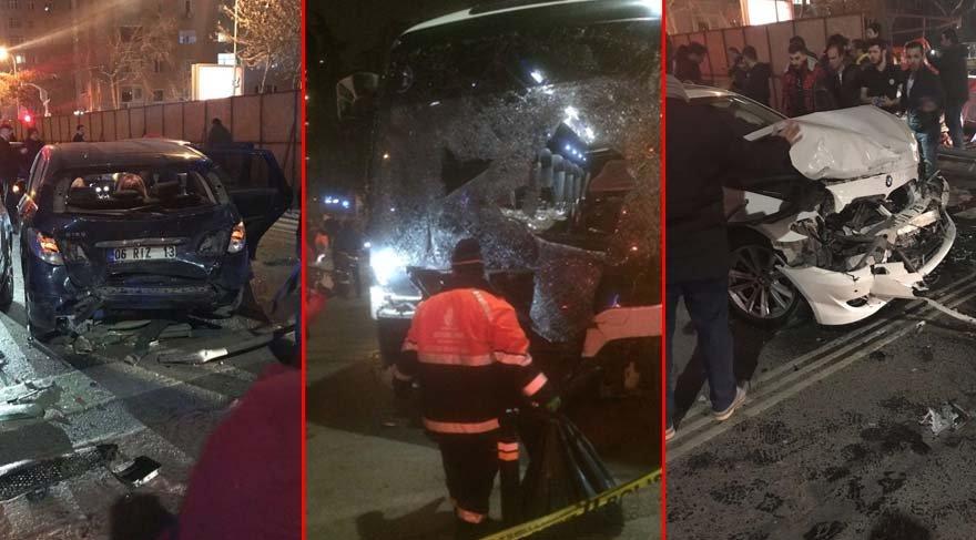 Kadıköy'de yolcu otobüsü karşı şeride geçti: 6 yaralı