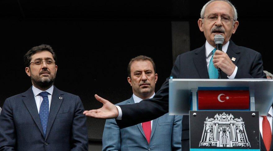 Kılıçdaroğlu, Beşiktaş Belediyesi'ne geldi… Çok sert konuştu