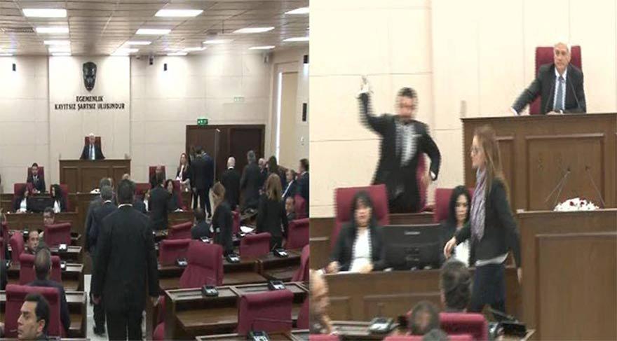 KKTC Meclisi'nde Zeytin Dalı operasyonu gerginliği