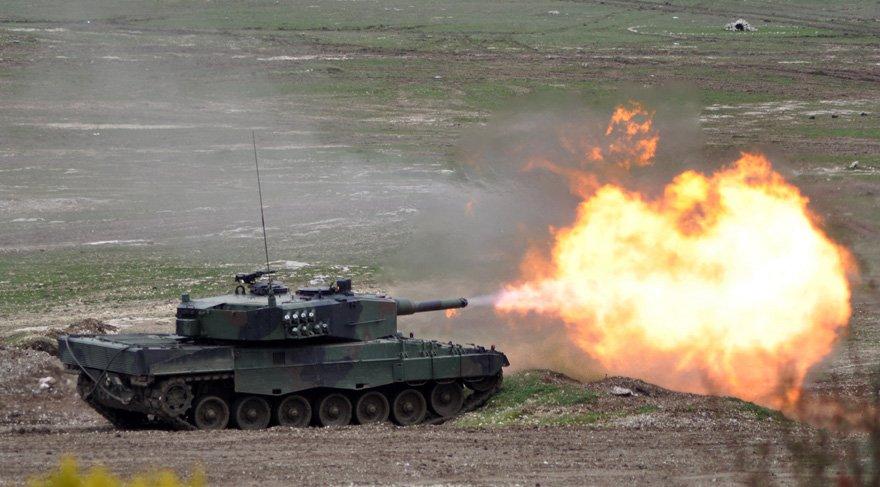 İşte Afrin'deki Zeytin Dalı Harekatı'nda kullanılan Leopar tanklarının özellikleri