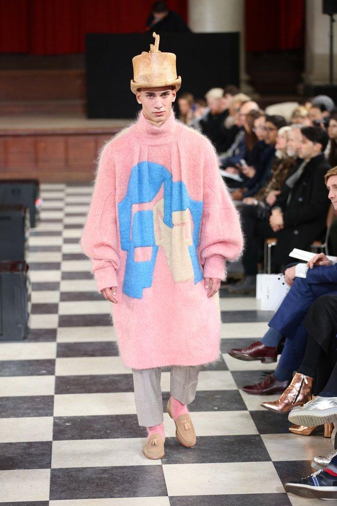 London College of Fashion öğrencilerinin sunumu