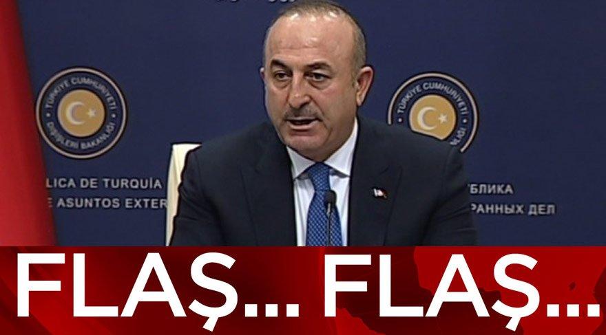 Mevlüt Çavuşoğlu'ndan flaş açıklamalar