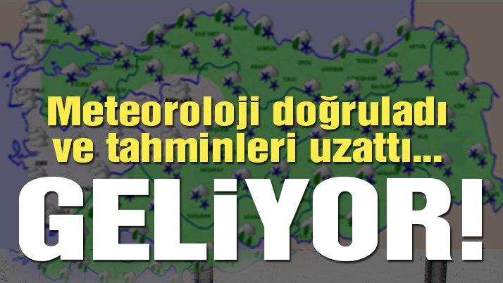 Kar vakti geldi, açıklandı İstanbul dikkat! Son dakika haberi Meteoroloji'den geldi..