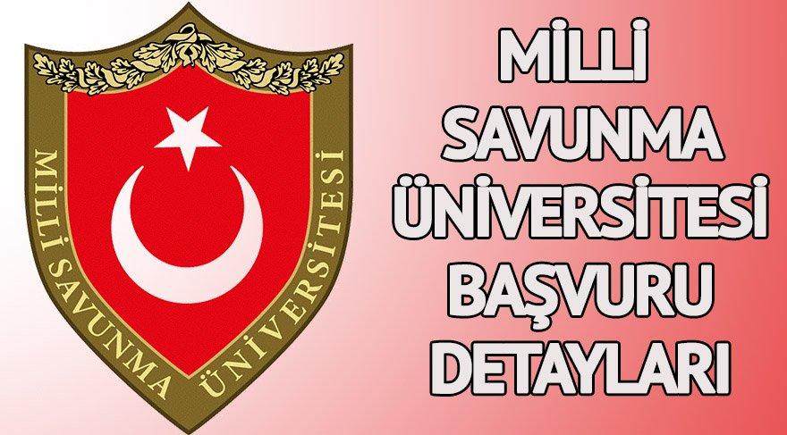 MSÜ başvuru detayları: MSÜ başvuru şartları neler? Milli Savunma Üniversitesi başvuruları için son gün ne zaman?