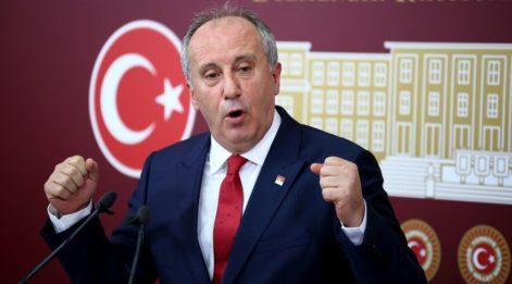 Muharrem İnce CHP Genel Başkanlığına adaylığını açıkladı