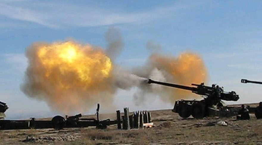 TSK YPG hedeflerini vurdu