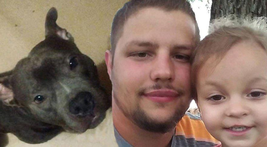 5 gün önce aldığı Pitbull 3 yaşındaki kızını öldürdü