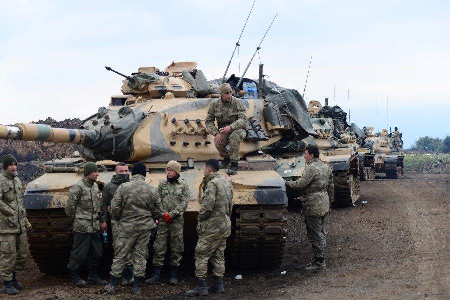 Afrin'de ABD'nin kafası karıştı