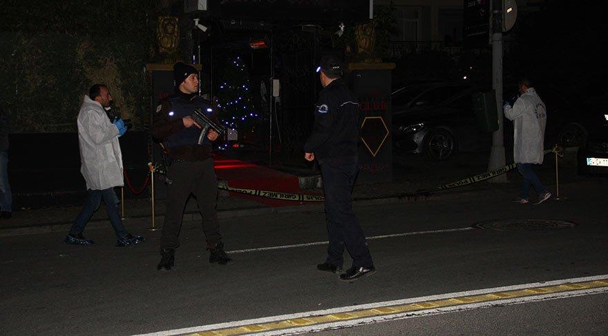 Ortaköy'de gece kulübüne silahlı saldırı! Biri ağır 3 yaralı