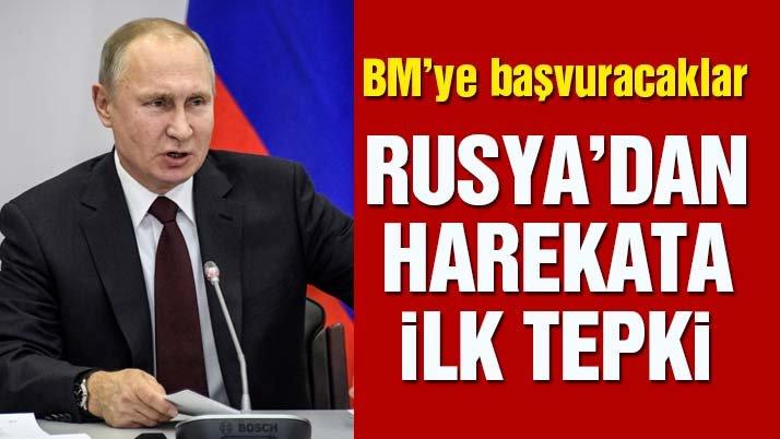 Son dakika: Afrin Harekatı'na ilk tepki Rusya'dan geldi