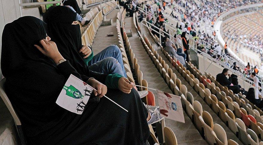 Suudi kadınlar bunu ilk kez yaşadı