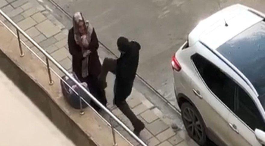 Van Emniyet Müdürlüğü şiddet uygulayan adam için alarma geçti