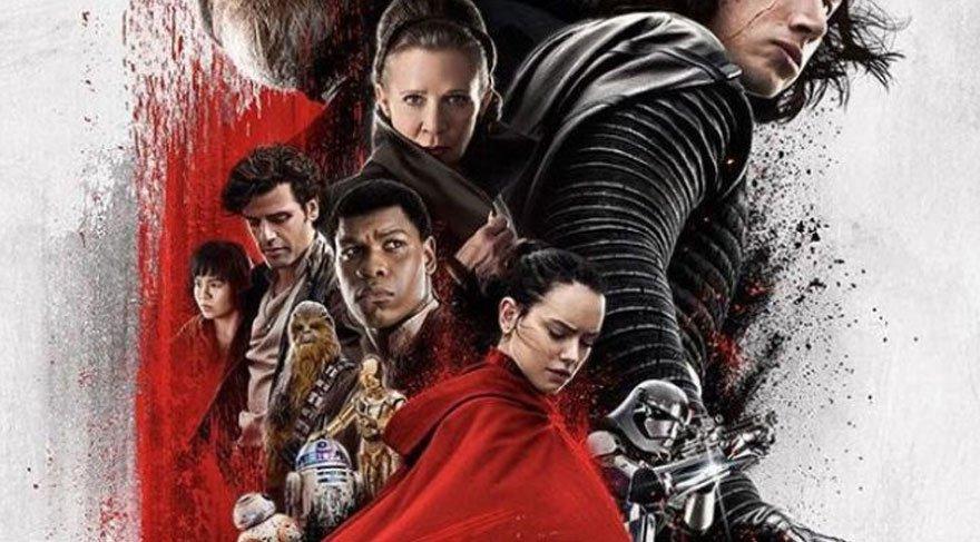 'Star Wars: Son Jedi' zirveye koşuyor