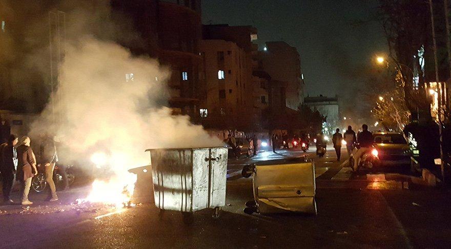 İran'da son durum... Hayatını kaybedenlerin sayısı 18'e yükseldi